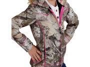Roper Western Jacket Girls Kid Fleece Camo L Brown 03-298-0692-0470 BR