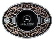 Montana Silversmiths Belt Buckle Women John Deere Black A333JDP