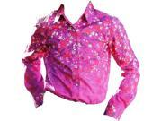 Cruel Girl Western Shirt Girls Infants L/S 3-6 mos Purple CTW3142003