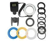Xcsource® RF550D Macro 48pcs LED Ring Flash Light For Canon Nikon Pentax Olympus LF295