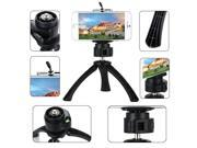 Xcsource® Mini TriPod + Phone clip GoPro adapter Screw Mount Holder For iPhone 5S 6 TV010