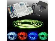 XCSOURCE® 2M 60 LED 5050 RGB SMD Strip Light + 44key Remote Controller + EU Adapter LD151