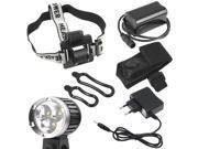 XCSOURCE® 4000LM CREE XML T6 LED Bicycle Bike HeadLamp Torch Headlight 18650 Battery LD185