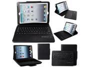 XCSOURCE® Black Detachable Bluetooth Keyboard Keybook Leather Case Stand Cover For Apple for iPad Air 1 2 PC642
