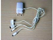 Xcsource® 5V 2A EU AC Travel Wall Charger Cable for Samsung Galaxy S4 S5 note 3/4 for iPhone 5/S 6/Plus xiaomi mi4 AY175-SZ+