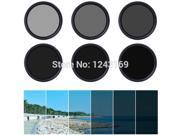 Xcsource® Xcsource 77mm Fader Neutral Density Adjustable Variable ND Filter ND2 to ND400 + Bag LF308