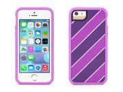 Griffin Purple Stripes Identity 2 Piece Protective Case for iPhone 5/5s   Style and protection in a two-piece case
