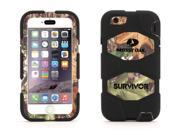 Griffin Obsession/Black Survivor Case in Genuine Mossy Oak® Camo for iPhone 6/6s   Mil-spec tested, real-world proven protection.