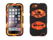 Griffin Blaze/Black Survivor All-Terrain Case in Mossy Oak® Camo for iPhone 6/6s   Real-world proven protection with Rotating Belt Clip