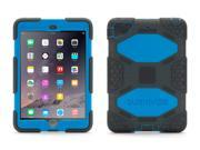 Griffin Smoke/Blue Survivor All-Terrain Case for iPad mini, iPad mini 2, & iPad mini 3   Military-duty case with stand-Touch ID Compatible