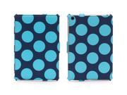 Mineral Blue Dots Multi-Positional Journal Case for iPad mini,Folio case plus workstand for iPad mini 9SIA2C11Z35166