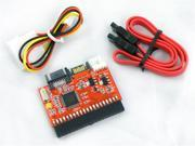 2 in 1 3.5 IDE to SATA Serial ATA / SATA to IDE HDD Converter Adapter With Cable