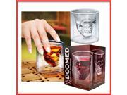 Crystal Skull Head Vodka Wine Beer Whiskey Shot Bottle Cup Mug Glass Drink Drinking Cup Ware Home  2.5 oz 75ml 9SIV0E24095110