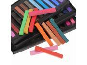 Non-toxic Temporary Hair Color Chalk Dye Soft Pastels Salon Kit 36 Colors