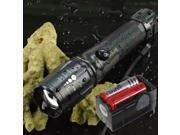 UltraFire Zoomable 1800Lm CREE XM-L T6 LED Flashlight Lamp Torch 2x18650 Charger