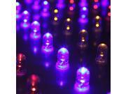 225 LED Blue Red Orange White Grow Light Panel Hydroponic Plant Lamp 14W