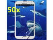 50 pcs Matte Front Screen Protector Cover Skin For Samsung Galaxy S4 SIV i9500