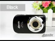 AMKOV CD110HS Fashion Digital Camera 3.0 Inch Color Touchscreen 16.0MP Black