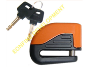 10mm Motorcycle Bike Sturdy Wheel Disc Brake Lock Security Safety Alarm + key