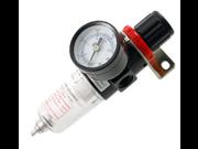 "1/4"""" NPT Air Brush Filter Regulator Gauge In Line Compressor AFR-2000 Source"" 9SIAASP40M4097"