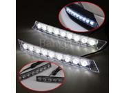 2x 9-LED Daytime Running Light DRL Dring Lamp Bulb For Benz BMW Audi VW Toyota