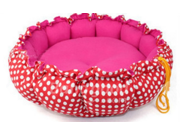Large Size Flower Color Pet Dog Cat Pumpkin Nest Kennel Bed