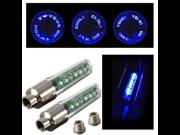 Bicycle Bike Motorcycle Lamp Tire Spoke Wheel Valve Flash 7LED Light Neon Blue 9SIAASP40N3744