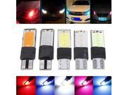 4pcs T10 194 6W LED Error Free COB Canbus Inverted Side Wedge Lamp Light Bulb Replacement of Fog lamps Turn Signal Light 12V 300LM