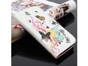 Flower Flip PU Leather Wallet Card Case Cover Stand For Motorola Moto G2 nd Gen G+1