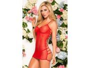 Espiral Red Surprise Chemise Set 7059RD Red Large 9SIA2CV1AF1006
