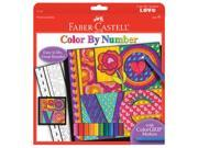 Faber-Castell Color By Number Love FBCY4549 FABER-CASTELL