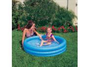 "Crystal 3 Ring Blue Pool, 3-Ring, 66"" X 16"" INX58446"