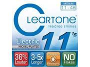 Cleartone Electric .011-.048 Medium Strings 9411 EVERLY