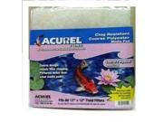Acurel Coarse Polyester Media Pad, 12-Inch by 12-Inch LP2550 LOVING PETS, INC