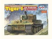 Dragon 1/35 Tiger I Late Production w/Zimmerit DMLS6383 DRAGON MODELS