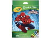 Crayola Ultimate Spiderman Mini Coloring Pages 04-0174 9SIAD245DX9877