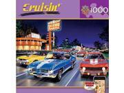 Masterpieces Woodward Avenue Cruisin Jigsaw Puzzle (1000-Piece) MSTY7515 MasterPieces 9SIA2CW3Z07633