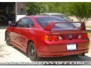 Acura RSX Type R Factory Style High Rear Spoiler Painted 2002 2006 JSP 27405