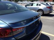 Mazda 6 Sedan 2014 2015 Factory Style Rear Spoiler Primed JSP 368061