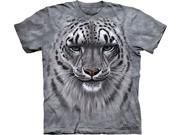 Snow Leopard Adult T-Shirt by The Mountain - 10-3181