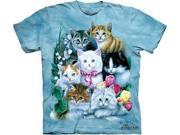 Kittens Adult T-Shirt by The Mountain - 101172