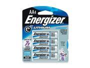 Energizer EVEL91BP4 Battery Lithium Aa 4Pk