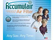 20x20x1 Carrier Air Purifier Carbon Filters 9SIAAMZ40R2998