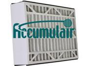 16x25x3 (15.75 x 24.25 x 3) MERV 8 Accumulair Replacement Filter for Ultravation - (Qty of 4) 9SIA00Y42X1479