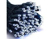 Image of ALEKO® 105 LED Solar Powered Holiday String Lights, White