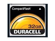Duracell 32GB CompactFlash Car