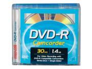 567622 8cm Write-Once DVD-R Removable Disc For DVD Camcorders - 3 Pack
