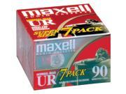 108575 Normal Bias Audiocassette Multi Pack - 7 Pack - 90 Minutes