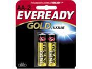 A91BP-2  AA Alkaline Battery Retail Pack - 2-Pack
