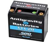 Antigravity Batteries 92 AG VTX12 20 OEM Case 20 Cell 20ah 500cca Maintenance Free Battery 3 Year Manufacturer Warranty!